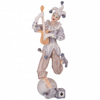 Фигурка клоун 11*7,5*24 см. коллекция буффонада (кор=12шт.)