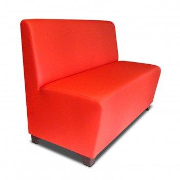 Диван «лайт пл», 1200 x 640 x 915 мм, экокожа, цвет красный