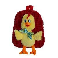 Мягкий рюкзак цыпленок