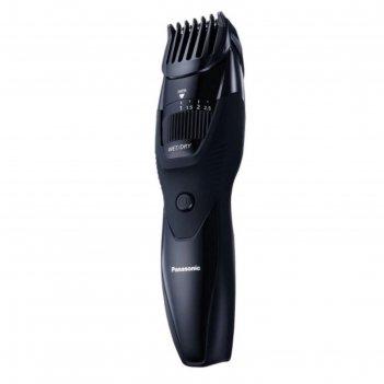 Триммер panasonic er gb 42 k 520, для бороды, от 1мм до 10 мм, чёрный