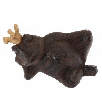 Фигурка декоративная лягушка, l15,5 w8 h8 см