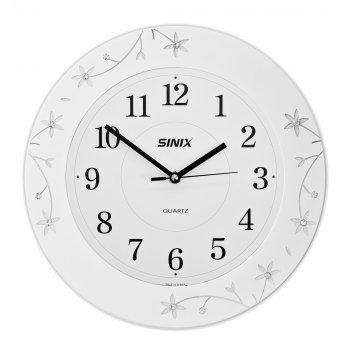 Настенные часы sinix 5097w