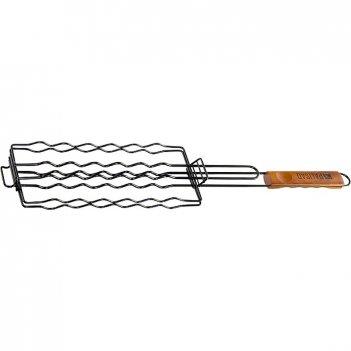 Решетка гриль для сосисок 240 х 90 мм, антипригарное покрытие, camping pal