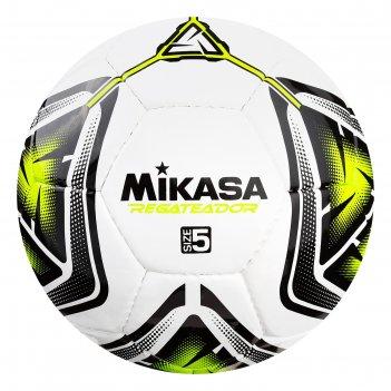 Мяч футбольный mikasa regateador5-g, р.5, пвх