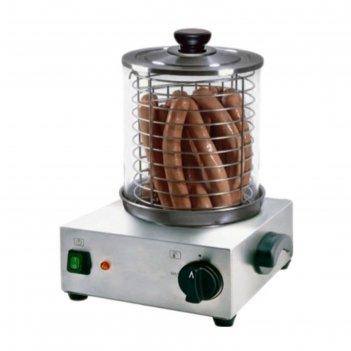 Мармит gastrorag ly200509m, электрический, 300 вт, 20-50 сосисок, серебрис