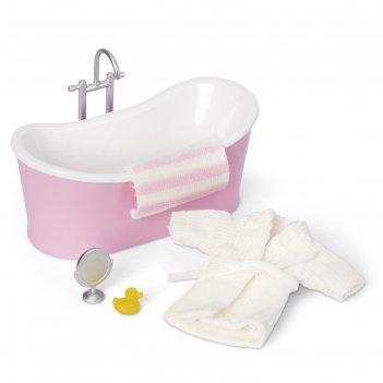 Набор мебели для кукольного домика «ванная», с аксессуарами
