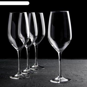 Набор бокалов время дегустаций бордо 580 мл, 4 шт. p6815