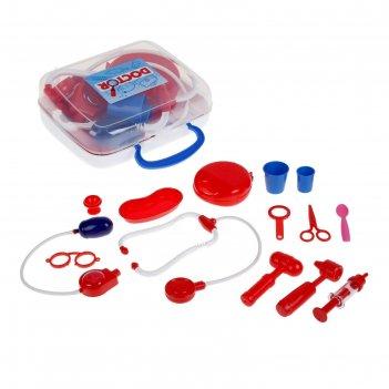 Игровой набор «доктор №3» в чемоданчике