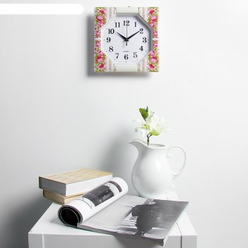 Часы настенные, серия: классика, сандра 25х25 см