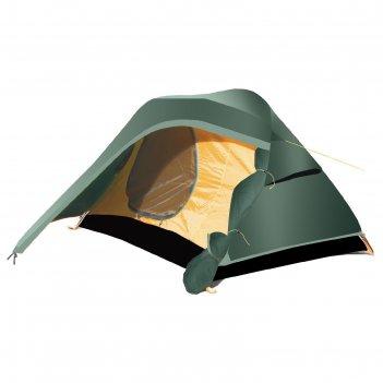 Палатка, серия trekking micro, зеленая, двухместная