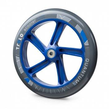 Колесо с подш.trolo quantum 2 230мм серый/синий