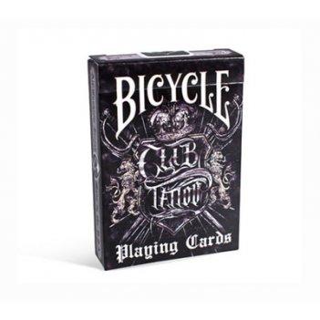 Карты для покера bicycle clud tattoo