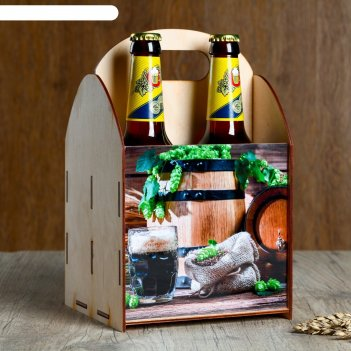 Ящик под пиво бочка зерно
