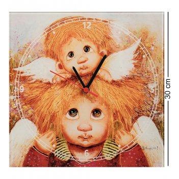 Ang-720 часы ангелы семейной любви 30х30