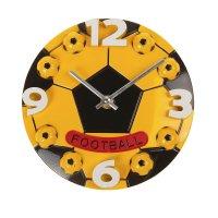 Часы настенные футбольный мяч
