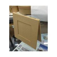 Рамка для фото двойная, картон,14х14х1 см