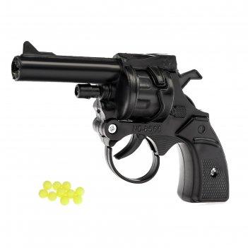 Револьвер механический браво, страляет пульками