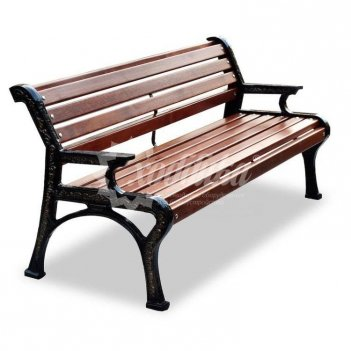 Скамейка чугунная «ретро стиль»