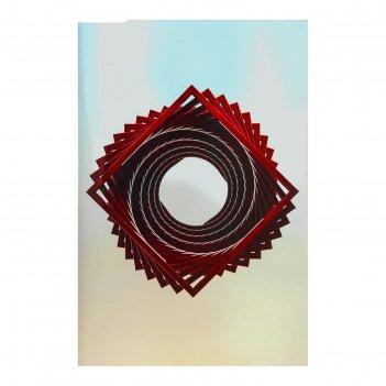 Панно настенное дизайнерское спиральное