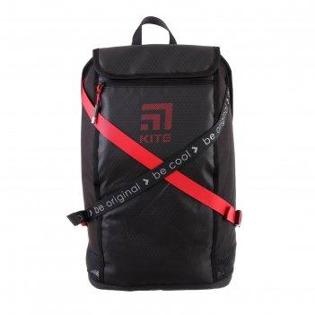 Рюкзак молодёжный с эргономичной спинкой kite 917, 45 х 27 х 14, сity, чёр