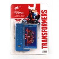 Телефон сотовый transformers, со звуком, на батарейках, в блистере 16,2*22