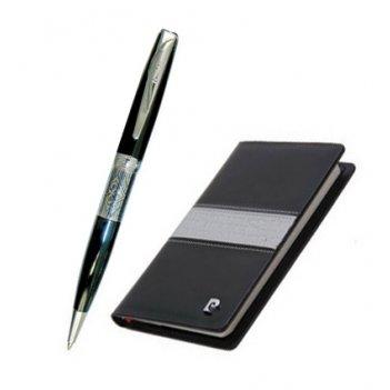 Набор: записная книжка + шариковая ручка, ручка шариковая, л