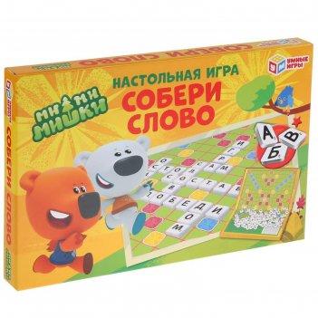 Настольная игра словодел. собери слово 4690590193860