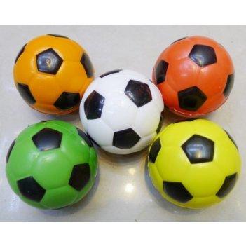 Мячик мягкий 6,35 см футболист.