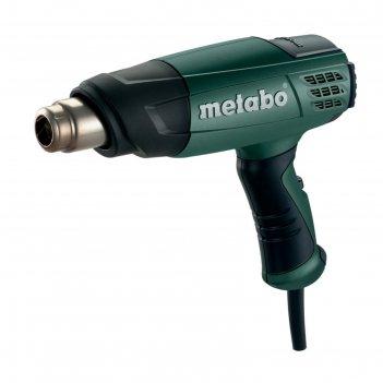 Фен metabo h 16-500, 1600вт, 2 режима, 300/500°c, расход 240/450л/мин