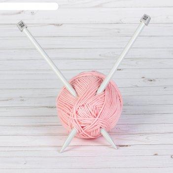 Спицы для вязания, прямые, с тефлоновым покрытием, d = 12 мм, 35 см, 2 шт