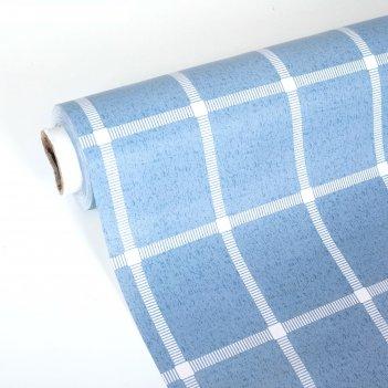 Клеёнка столовая на тканевой основе, ширина 137 см, толщина 0,3 мм, рулон
