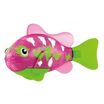 Тропическая роборыбка собачка (розовая) лицензия от robofish zuru