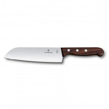 Нож сантоку  victorinox rosewood, лезвие 17 см, коричневый, в подарочной к