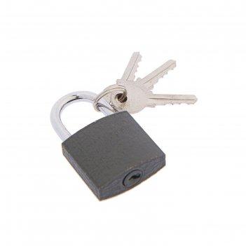 Замок навесной стандарт  d=4.5, 30х27,5 мм, 3 англ ключа