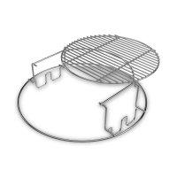 Решетка мультиуровневая для гриля xl, материал: нержавеющая сталь, big gre