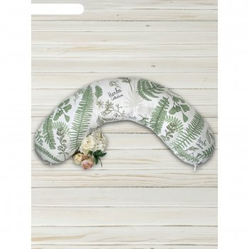 Наволочка к подушке для беременных soft collection, размер 25x170 см, папо