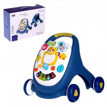 Каталка-ходунки мой малыш, световые и звуковые эффекты