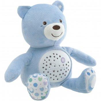 Развивающая игрушка chicco «мишка», цвет голубой, от 0 месяцев