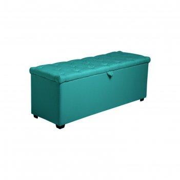 Банкетка монако-3 1210х420хн430 рогожка emerald
