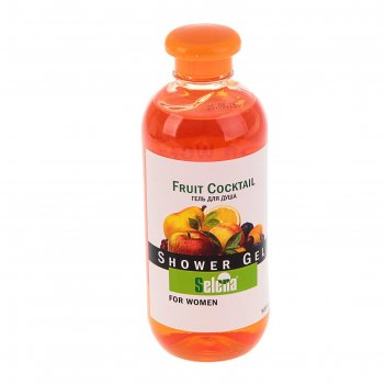 Гель для душа selena fruit cocktail for women, 500 мл