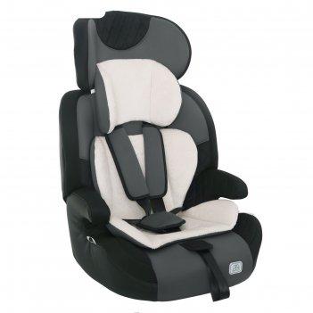 Автокресло-бустер forward smart travel,группа 1-2-3, цвет серый
