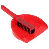 Набор для уборки: совок, щетка 21*17*4,5 см, микс цвета