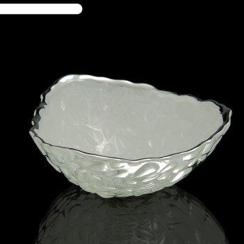 Чаша капли, белая