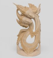 17-008 статуэтка рама и сита - любовь и преданность (суар, о.бали)