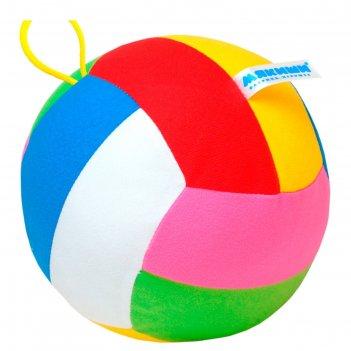 Развивающий мяч с погремушкой шалун