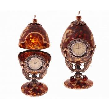Часы-шкатулка державные (бронза)