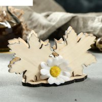Салфетница кленовый лист микс