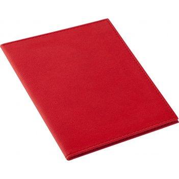 Обложка для паспорта twill, красная