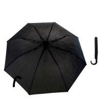 Зонт мужской полуавтомат, 3 сложения, 8 стальных спиц, купол 54 см, ручка
