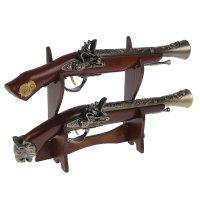 Сувенирное изделие настольное серия ретро, 2шт, пистолет-мушкетон на рукоя